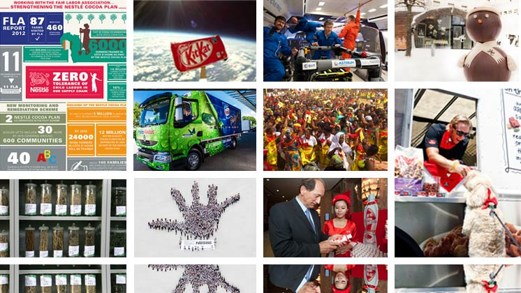 Nestle in pictures